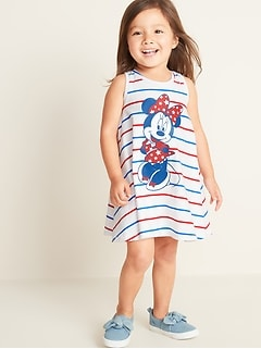 Disney© Minnie Mouse Graphic Swing Dress for Toddler Girls