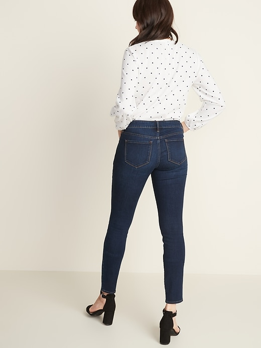 Low-Rise Pop Icon Skinny Jeans for Women