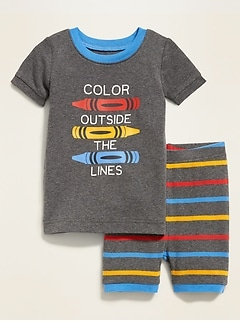 """Color Outside The Lines"" Sleep Set For Toddler Boys"