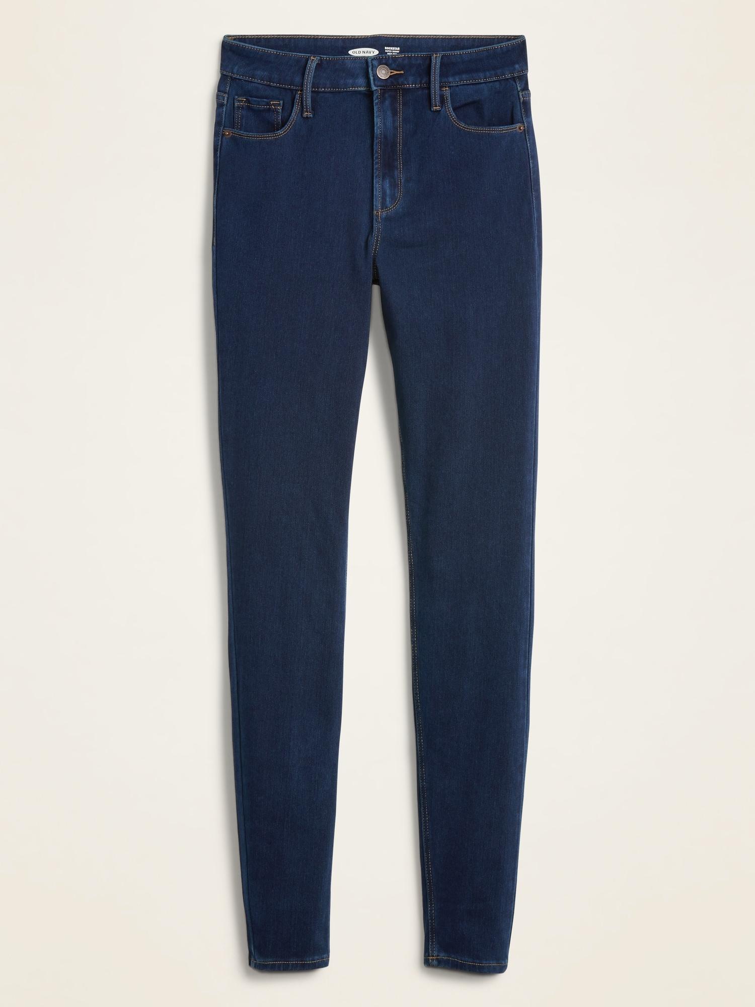 13d2f11c5f0f7 High-Rise Rockstar 24/7 Sculpt Super Skinny Jeans for Women | Old Navy