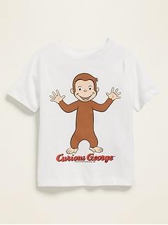 Curious George&#153 Graphic Tee for Toddlers