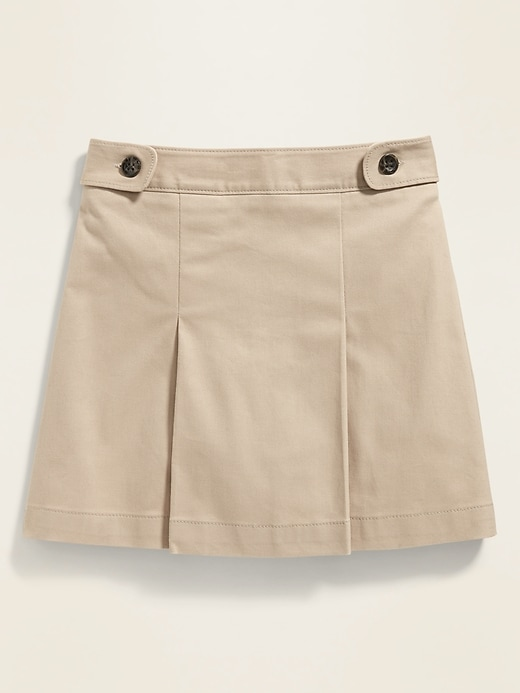2-Pack Uniform Twill Skort for Girls
