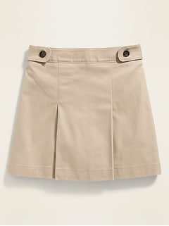 Uniform Twill Skort for Girls