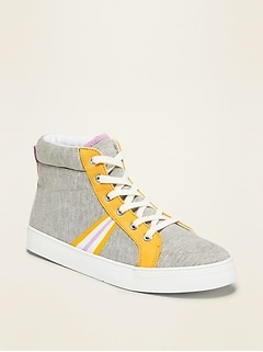 Jersey High-Tops for Girls