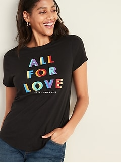 2019 Pride Graphic Tee For Women