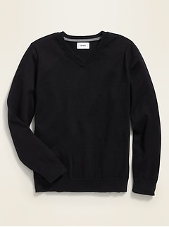 Uniform V-Neck Sweater for Boys