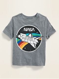 NASA® Rocket Graphic Tee for Toddler Boys