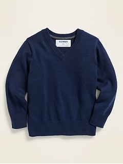 V-Neck Sweater for Toddler Boys
