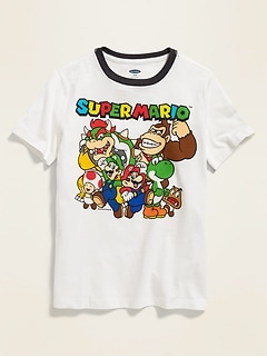 Super Mario™ Graphic Tee for Boys