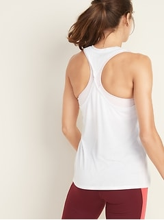 Lightweight Twist-Back Performance Tank for Women