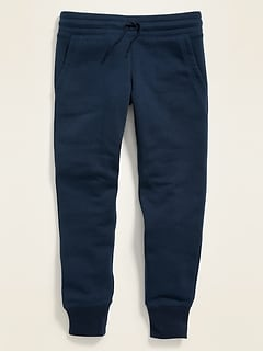 Relaxed Uniform Joggers for Girls