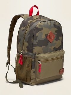 Zip-Top Backpack for Boys