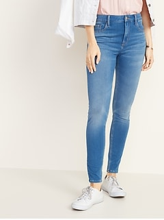 High-Rise Rockstar 24/7 Sculpt Super Skinny Jeans for Women