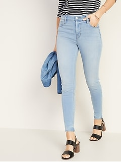 High-Rise 24/7 Sculpt Rockstar Super Skinny Jeans for Women