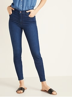 High-Waisted Rockstar Built-In Sculpt Jeans For Women