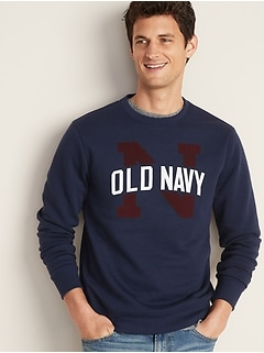 Classic Logo-Graphic Sweatshirt for Men