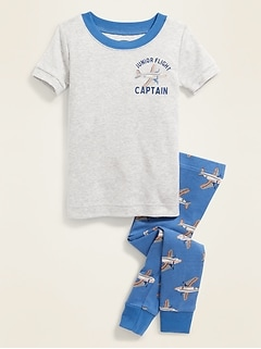 """Junior Flight Captain"" Sleep Set For Toddler Boys & Baby"