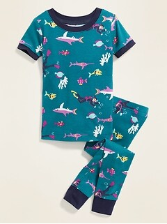 Under-the-Sea Print Sleep Set for Toddler Boys & Baby