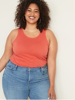 EveryWear Slub-Knit Plus-Size Tank