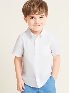 Uniform Oxford Shirt for Toddler Boys