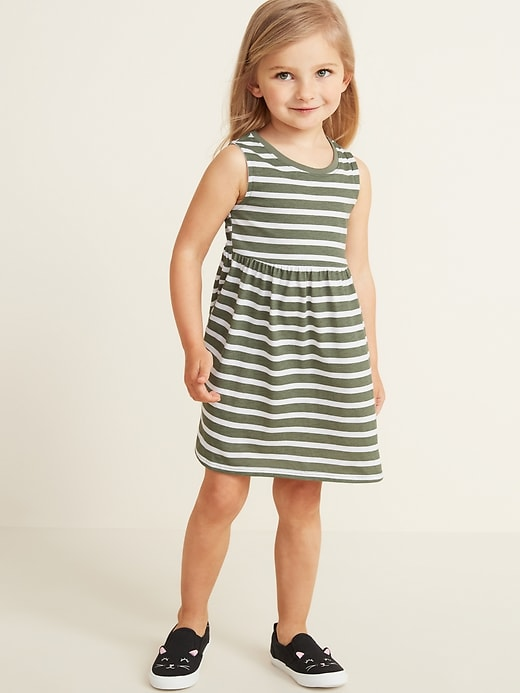 Sleeveless Fit & Flare Dress For Toddler Girls by Old Navy