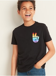 "2019 Pride ""Love Pride Family"" Tee For Boys"