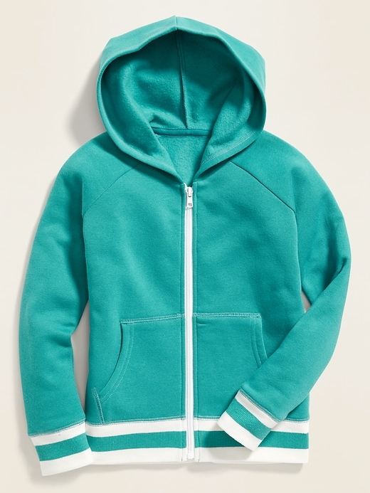 Relaxed Zip Hoodie for Girls