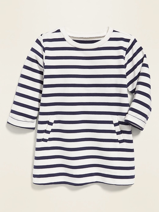 Relaxed French Terry Dress for Baby