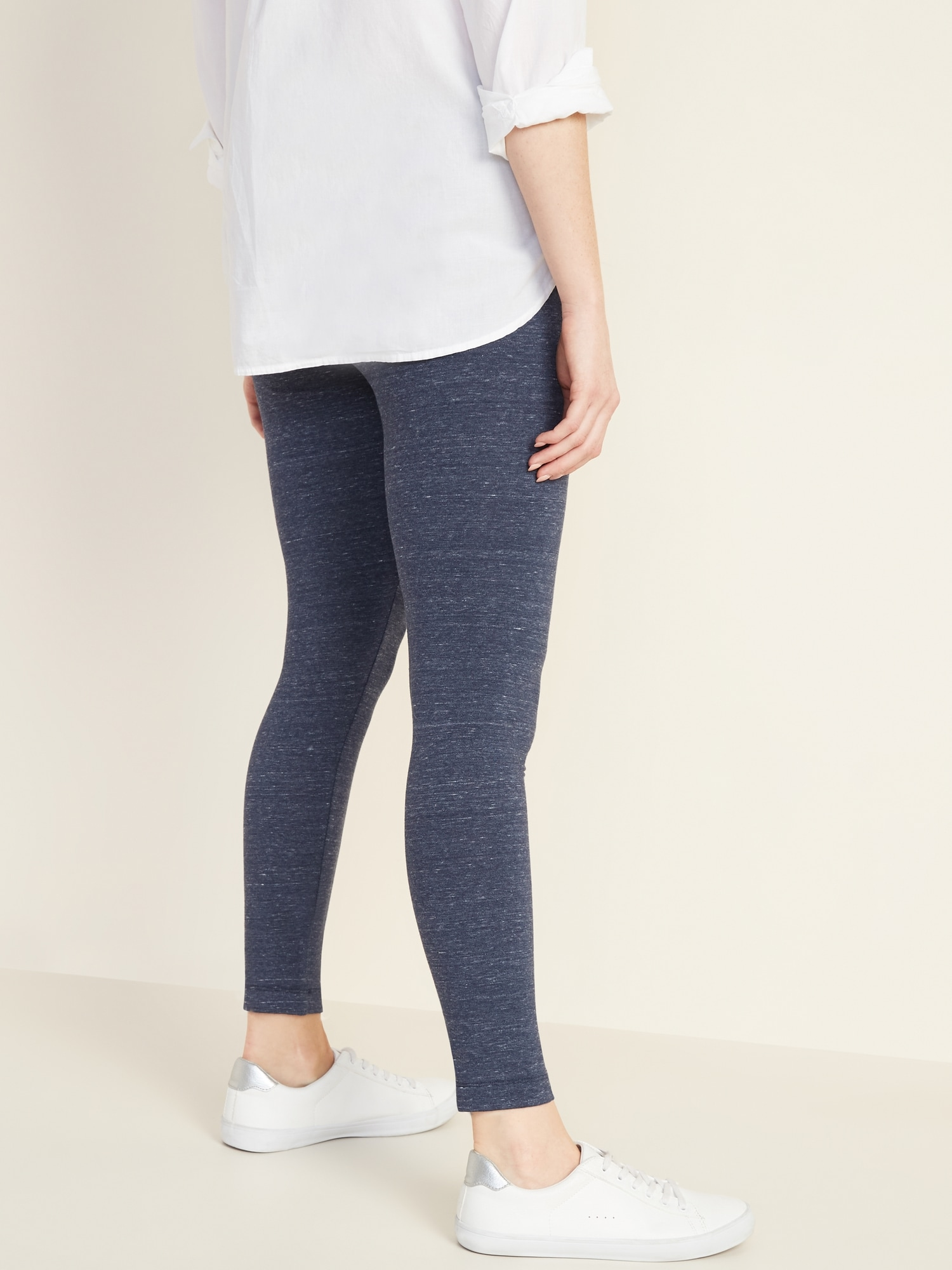 80b712a06d62d0 Mid-Rise Space-Dye Leggings for Women   Old Navy