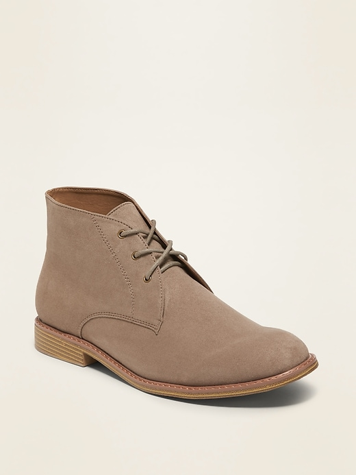 Old Navy Faux-Suede Chukka Men's Boots