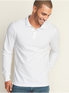Built-In Flex Moisture-Wicking Tipped Pro Polo for Men