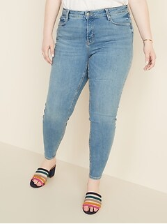 High-Rise Secret-Slim Pockets Plus-Size Rockstar Jeans