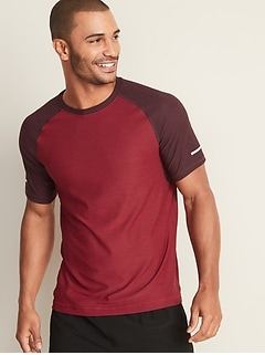 ea08c874 Ultra-Soft Breathe ON Built-In Flex Color-Blocked Tee for Men