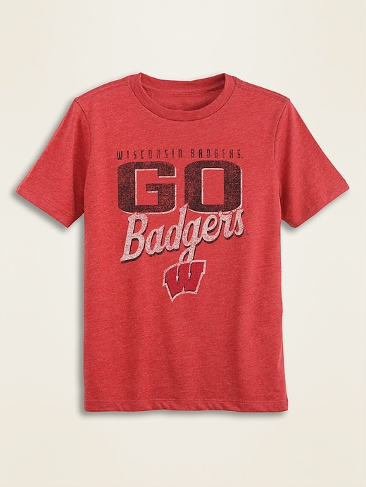 """Go...!"" College-Team Graphic Tee for Boys"
