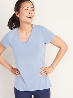 V-Neck Performance Tee for Women