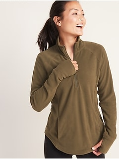Micro Performance Fleece 1/4-Zip Pullover for Women
