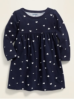 Fit & Flare Jersey Dress for Baby