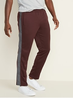 Go-Dry Tapered Side-Snap Pants for Men