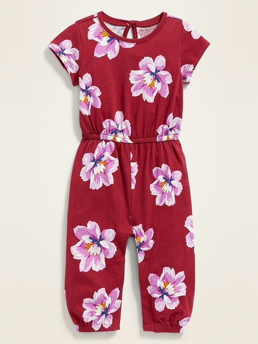 Printed Jersey Jumpsuit for Baby