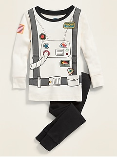 Astronaut Pajama Set for Toddler & Baby