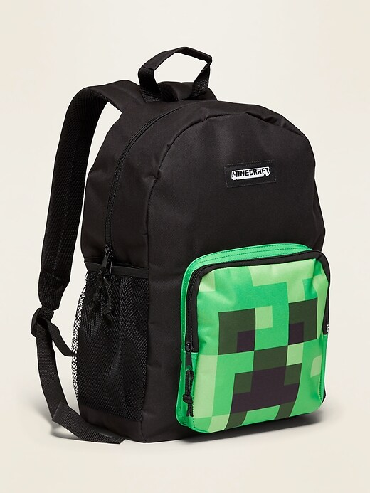 Pop-Culture Print Canvas Backpacks for Kids