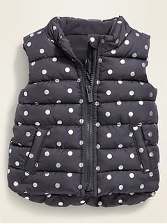 Frost-Free Puffer Vest for Baby