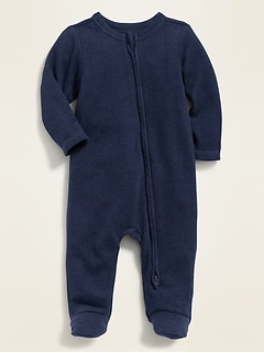 Unisex Cozy Footed One-Piece for Baby