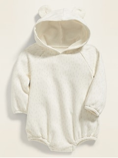 Cozy Hooded One-Piece for Baby