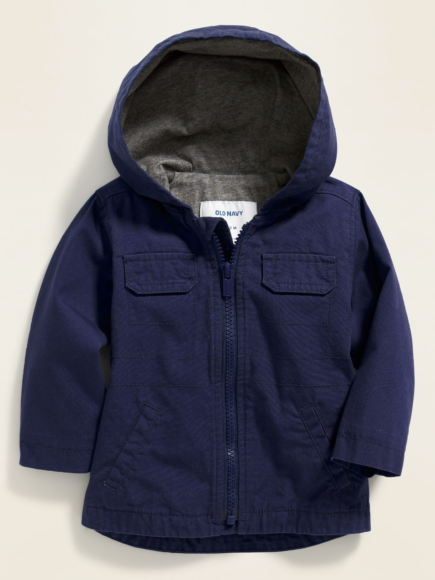 d77406c9c3b Hooded Canvas Utility Jacket for Baby | Old Navy