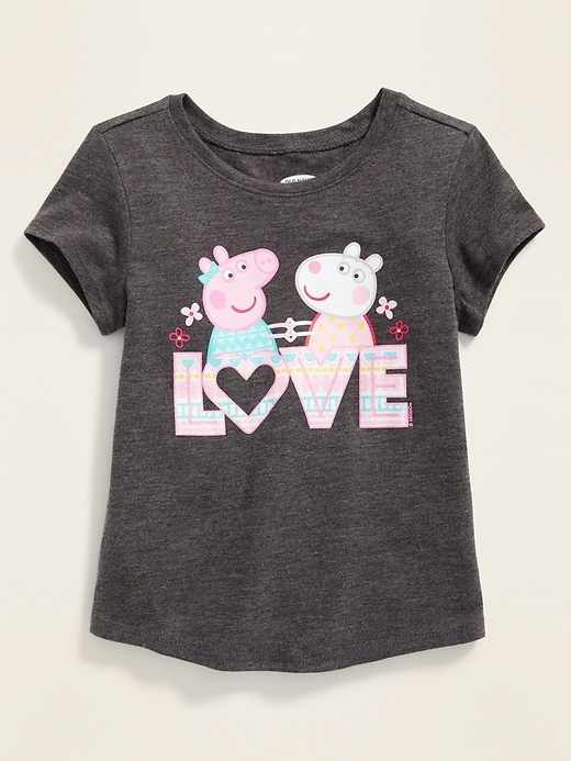 "Peppa Pig&#153 ""Love"" Tee for Toddler Gilrs"