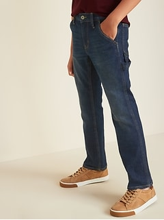 Straight Built-In Tough Carpenter Jeans for Boys