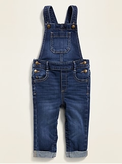 Denim Overalls for Toddler Girls