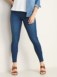 Mid-Rise Built-In Sculpt Rockstar Jeggings for Women
