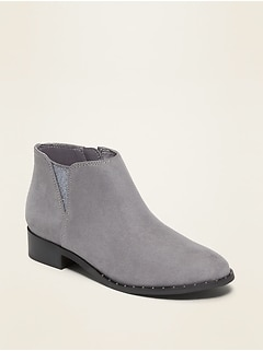 Faux-Suede Chelsea Boots for Girls